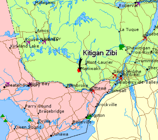 Kitigan Zibi Anishinabeg